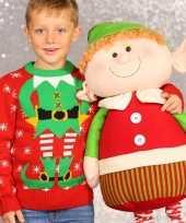 Kinder kersttrui kerstelf